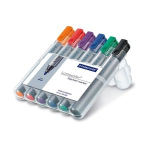 Marker flipchart Staedtler 6 culori / set ST-356-WP6