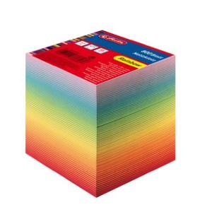 Cub din hartie Herlitz 9x9 800 file Rainbow 10901973