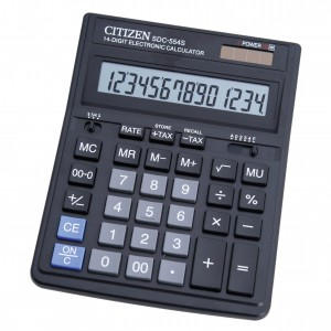 Calculator Citizen de birou cu 14 digiti SDC554S