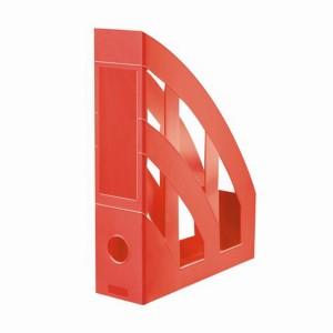 Suport vertical plastic A4 rosu clasic Herlitz 9471350