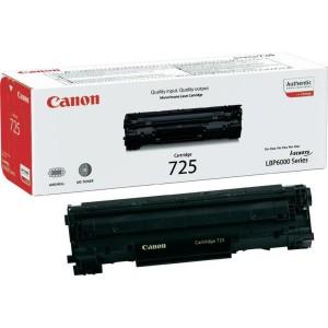 Cartus toner negru Canon CRG-725 1,6K ORIGINAL 6000
