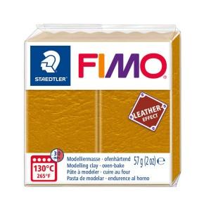 Lut polimeric Fimo Leather Effect ochre pentru modelaj STH-8010-179