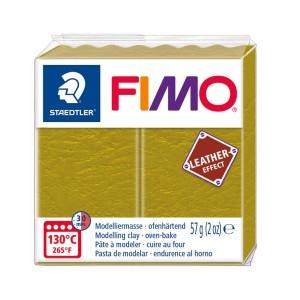 Lut polimeric Fimo Leather Effect Olive pentru modelaj STH-8010-519