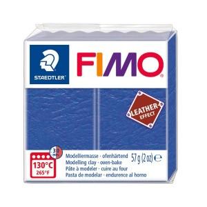 Lut polimeric Fimo Leather Effect indingo pentru modelaj STH-8010-309