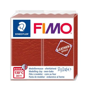 Lut polimeric Fimo Leather Effect rust pentru modelaj STH-8010-749