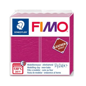Lut polimeric Fimo Leather Effect berry pentru modelaj STH-8010-229