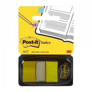 Post-it index 3m galben 3M-680-5