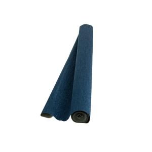 Hartie floristica albastru metalizat 180g 50x250cm A400