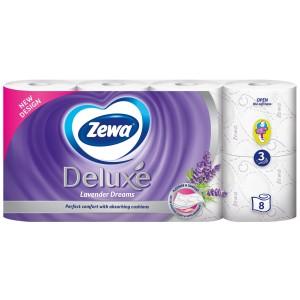 Hartie igienica Zewa Delux 3 straturi 8 bucati / set 8095