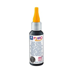 Fimo liquid gel decor 50ml black STH-8050-9