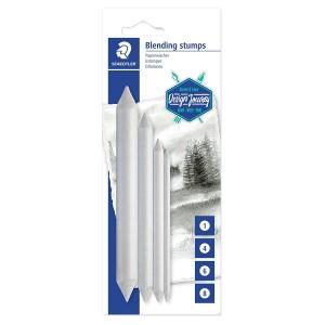 Creion din hartie pentru estompare pastel si creta 4/set STH-5426-S-BK4