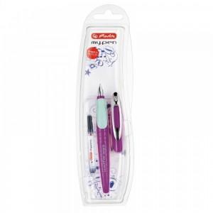 Stilou My Pen penita M pentru stangaci lila/menta 11167996