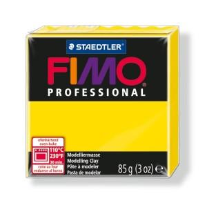 Lut polimeric Fimo Professional pentru modelaj STH-8004-True yellow