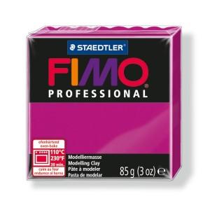 Lut polimeric Fimo Professional pentru modelaj STH-8004-True magenta