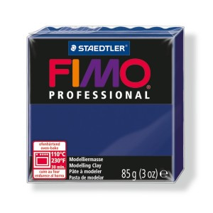 Lut polimeric Fimo Professional pentru modelaj STH-8004-Marine blue