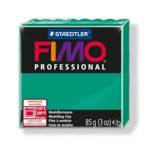 Lut polimeric Fimo Professional pentru modelaj STH-8004-True green