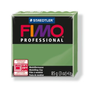 Lut polimeric Fimo Professional pentru modelaj STH-8004-Leaf green