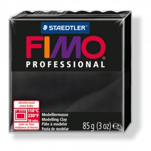 Lut polimeric Fimo Professional pentru modelaj STH-8004-Black