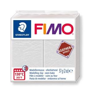 Lut polimeric Fimo Leather Effect ivory pentru modelaj STH-8010-029