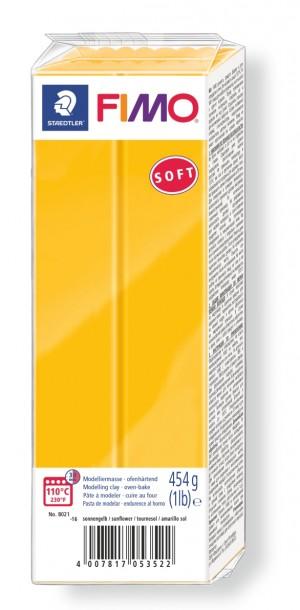 Lut polimeric Fimo Soft pentru modelaj Sunflower 454g STH-8021-16