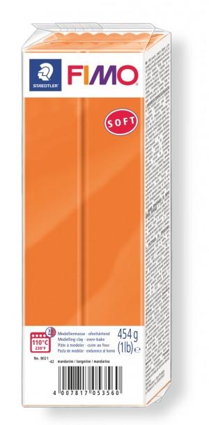 Lut polimeric Fimo Soft pentru modelaj Tangerine 454g STH-8021-42