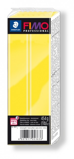 Lut polimeric Fimo Professional pentru modelaj Lemon 454g STH-8041-1