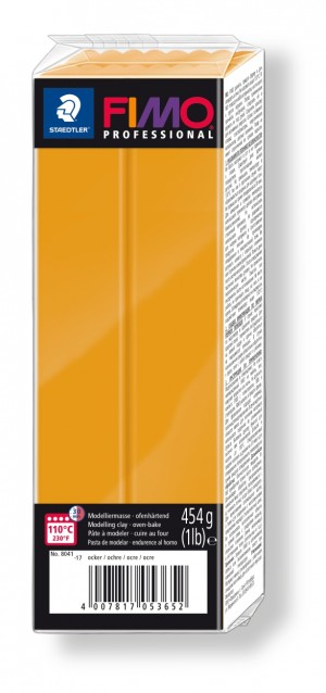 Lut polimeric Fimo Professional pentru modelaj Ochre 454g STH-8041-17
