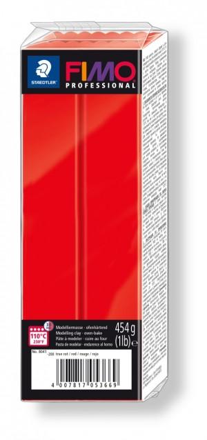 Lut polimeric Fimo Professional pentru modelaj True Red 454g STH-8041-200