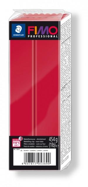 Lut polimeric Fimo Professional pentru modelaj Carmine 454g STH-8041-29