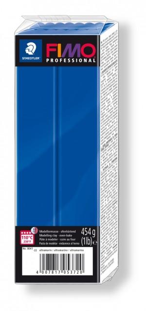 Lut polimeric Fimo Professional pentru modelaj Ultramarine 454g STH-8041-33