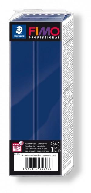 Lut polimeric Fimo Professional pentru modelaj Marine Blue 454g STH-8041-34