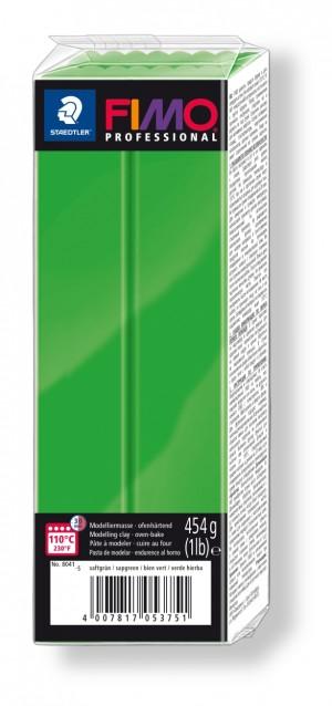 Lut polimeric Fimo Professional pentru modelaj Green 454g STH-8041-5