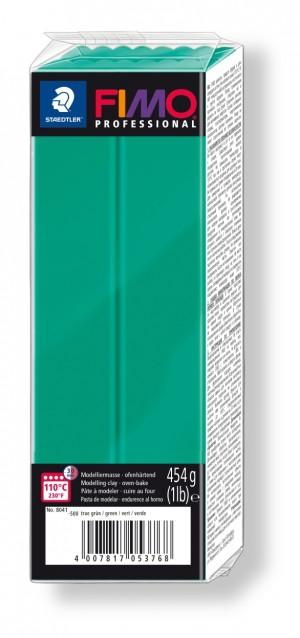 Lut polimeric Fimo Professional pentru modelaj True Green 454g STH-8041-500