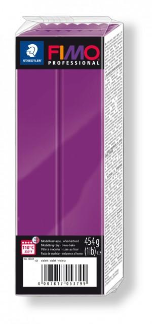 Lut polimeric Fimo Professional pentru modelaj Violet 454g STH-8041-61