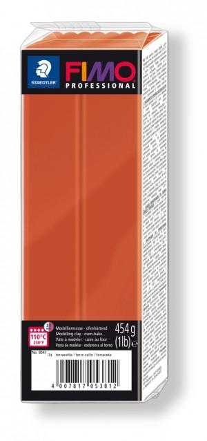 Lut polimeric Fimo Professional pentru modelaj Terracotta 454g STH-8041-74