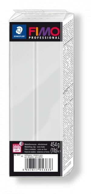 Lut polimeric Fimo Professional pentru modelaj Doplhin Grey 454g STH-8041-80