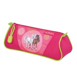 Penar Herlitz necessaire triunghiular spring horses 50014460