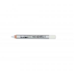 Creion Wax Aquarell Koh-I-Noor Alb K8280-01
