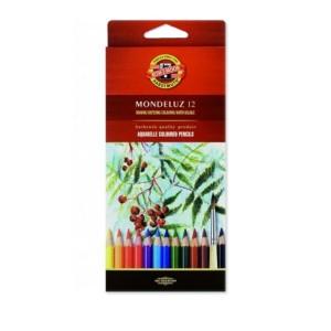 Creioane colorate Koh-I-Noor aquarell 12/set K3716
