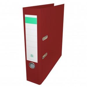 Biblioraft plastifiat Papet 8cm grena E5610110