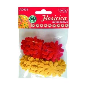 Accesorii craft Daco floricica auto adeziva pasla AD025