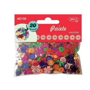 Accesorii craft Daco paiete asortate AD130