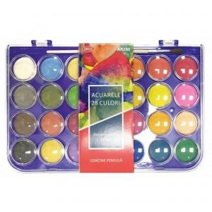 Acuarele 28 culori Daco AR280