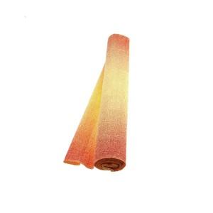 Hartie floristica rosu-galben 180g 50x250cm A12-S