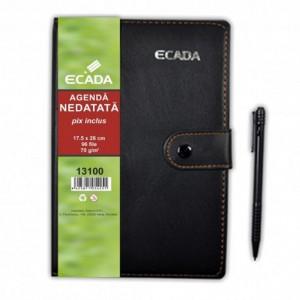 Agenda cu pix 17.5 X 25 cm Ecada 13100