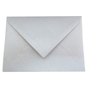 Plic Daco C6 gumat color argintiu PC612AG