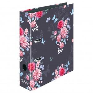 Biblioraft A4 8 cm Herlitz Motiv LadyLike Flowers 50021659