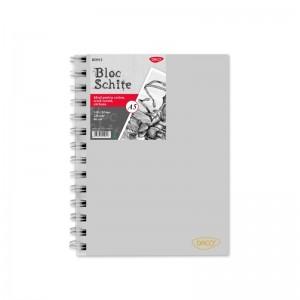 Bloc A5 schite 120gr, 80 file Daco BD512