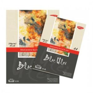 Bloc A4 ulei 250gr, 10 file Daco BD425