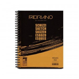 Bloc schita si creion Schizzi 21X29.7 cm 90g/mp 120 coli Fabriano RFB4.566.212.97